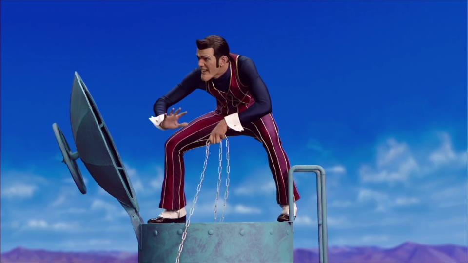 """Photo of A Belated, Well-Deserved Tribute for the """"LazyTown"""" Meme King"""