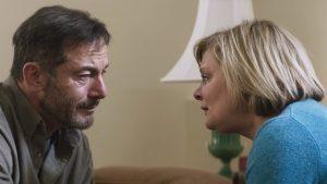 Jason Issacs as Jay and Martha Plimpton as Gail, courtesy of Deadline